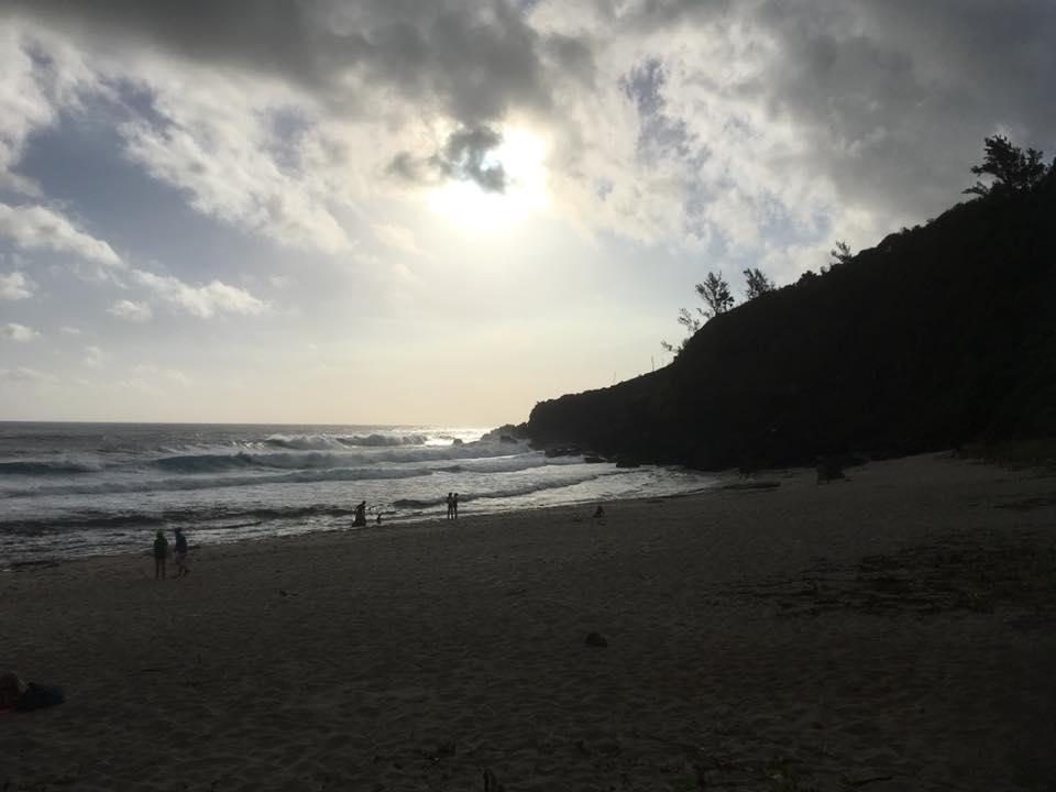 La plage de Grand Anse sur l'Ile de la Réunion