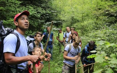 STAGE FAMILLE «CONTACT NATURE»